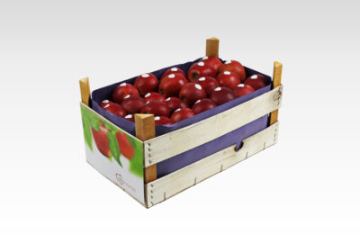 13 kg wooden box loose Red Jonaprince Appolonia apples