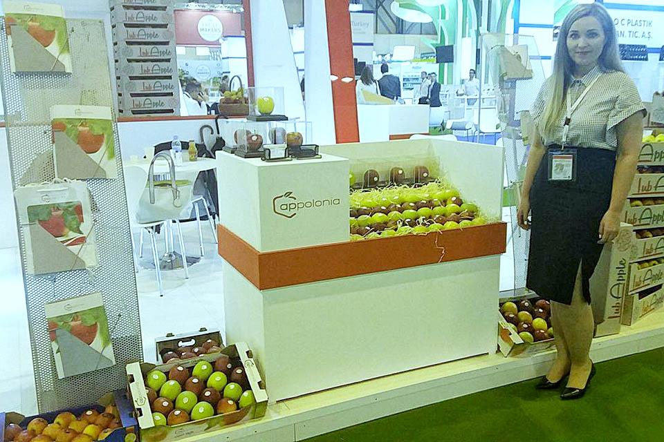 Appolonia w Madrycie na targach Fruit Attraction