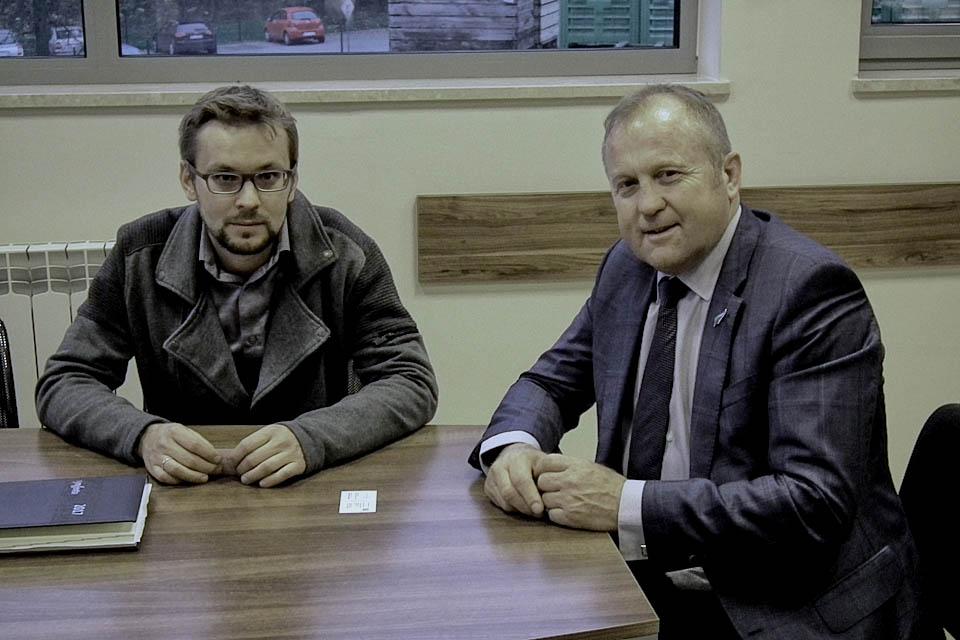 Wizyta przedstawicieli Nowej Zelandii w Polsadzie