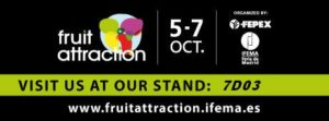 Visit us in Madrid! Fruit Attraction 2016