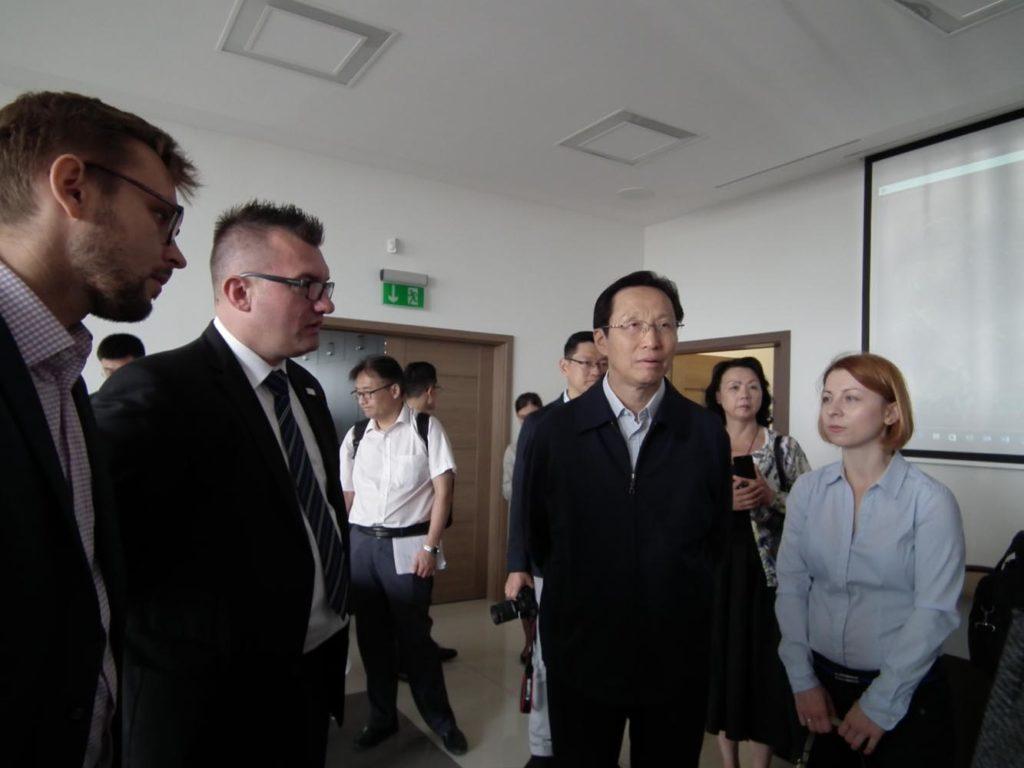 Wizyta delegacji Chin oraz Ministra Rolnictwa i Rozwoju Wsi w Twoim Owocu